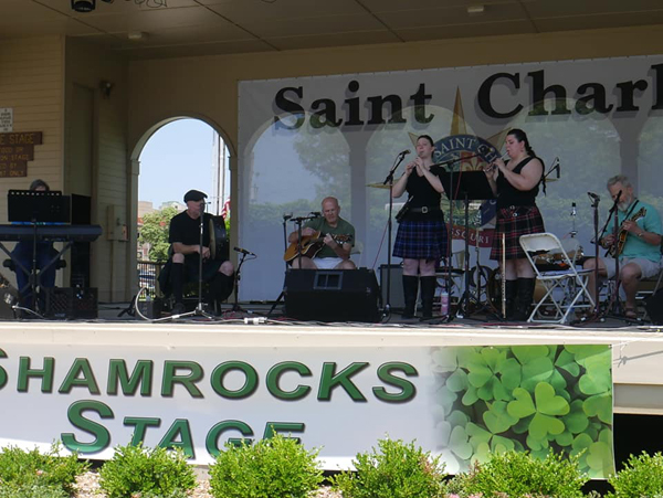 Celtica Traditional Music on Shamrock Stage